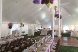 venue tented wedding
